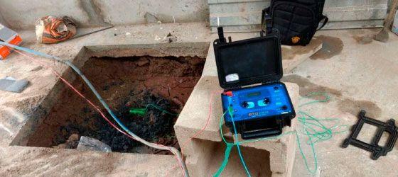 Pozo a tierra para sistemas eléctricos DCG TEC